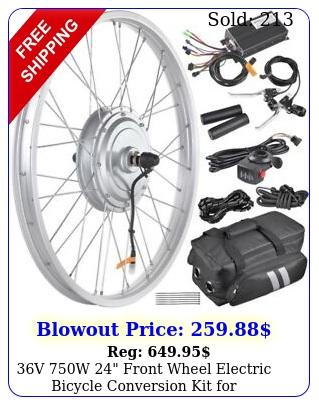 v w front wheel electric bicycle conversion kit x tir
