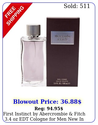 first instinct by abercrombie fitch oz edt cologne men i