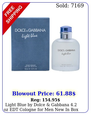 light blue by dolce gabbana oz edt cologne men i