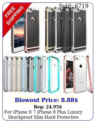 iphone  iphone plus luxury shockproof slim hard protective case cove