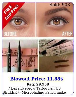 days eyebrow tattoo pen us seller microblading pencil make up brow