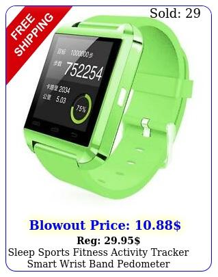 sleep sports fitness activity tracker smart wrist band pedometer bracelet watc