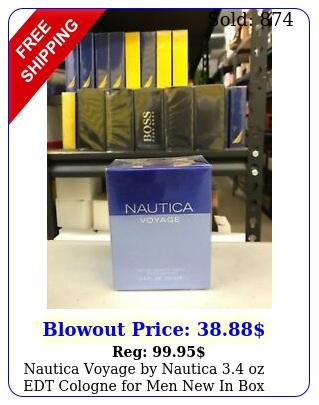 nautica voyage by nautica oz edt cologne men i