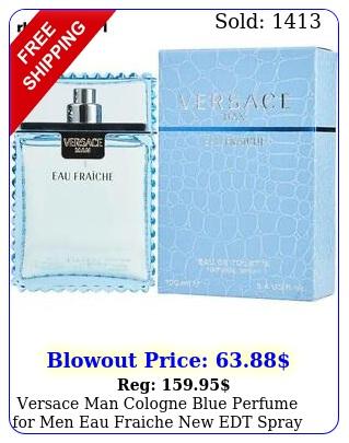 versace man cologne blue perfume men eau fraiche edt spray oz m