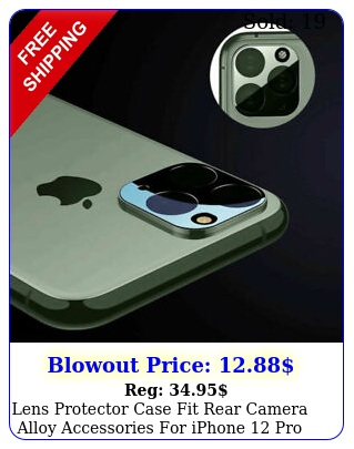 lens protector case fit rear camera alloy accessories iphone pro max