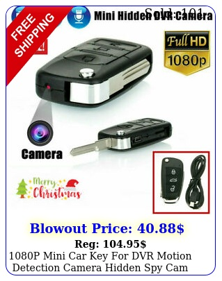 p mini car key dvr motion detection camera hidden spy cam video recorde