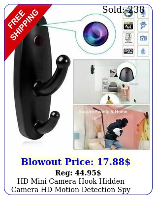 hd mini camera hook hidden camera hd motion detection spy home security dvr ca