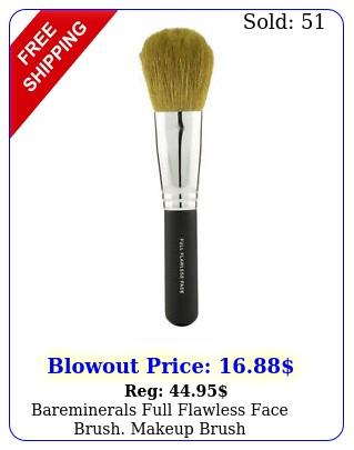 bareminerals full flawless face brush makeup brus