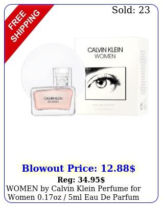 women by calvin klein perfume women oz ml eau de parfum mini