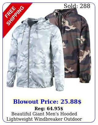 beautiful giant men's hooded lightweight windbreaker outdoor jacket cam