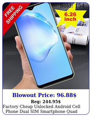 factory cheap unlocked android cell phone dual sim smartphone quad core phable