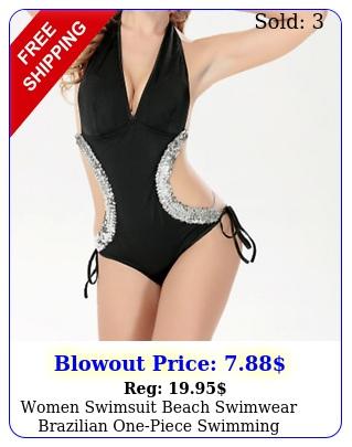 women swimsuit beach swimwear brazilian onepiece swimming summer fun swim sui