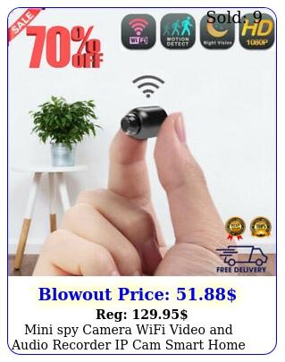 mini spy camera wifi video audio recorder ip cam smart home night visio