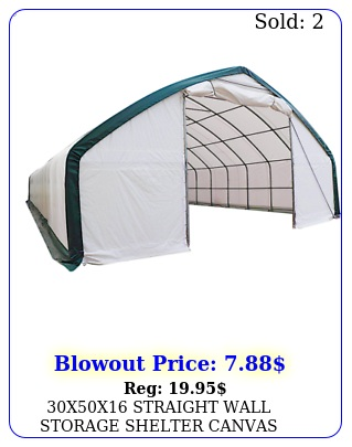 xx straight wall storage shelter canvas building carport fabric greenhous