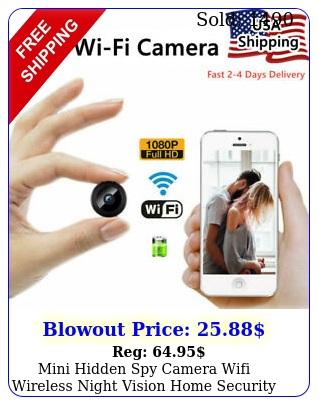 mini hidden spy camera wifi wireless night vision home security p hd dvr ca