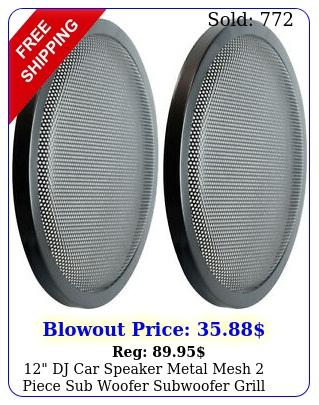 dj car speaker metal mesh piece sub woofer subwoofer grill cover pai