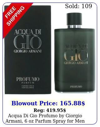 acqua di gio profumo by giorgio armani oz parfum spray me