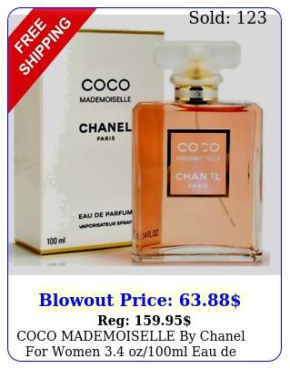 coco mademoiselle by chanel women ozml eau de parfum seale