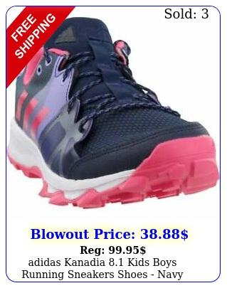 adidas kanadia  kids boys running sneakers shoes   nav