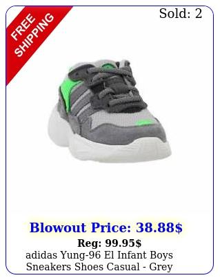 adidas yung el infant boys sneakers shoes casual  gre