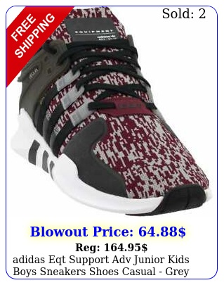 adidas eqt support adv junior kids boys sneakers shoes casual  gre