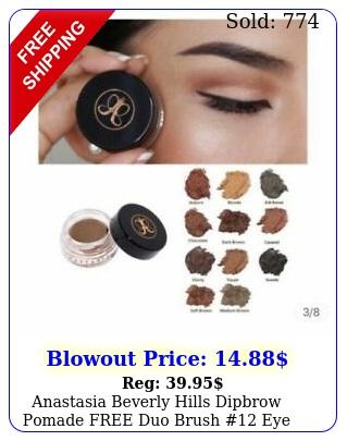 anastasia beverly hills dipbrow pomade free duo brush eye brow makeup u