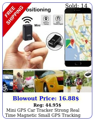 mini gps car tracker strong real time magnetic small gps tracking device locato