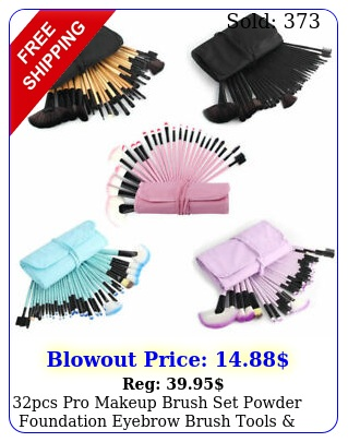 pcs pro makeup brush set powder foundation eyebrow brush tools cosmetic ba