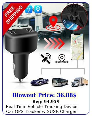 real time vehicle tracking device car gps tracker usb charger with live audi
