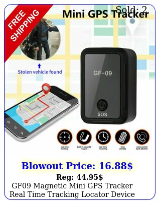 gf magnetic mini gps tracker real time tracking locator device car truc