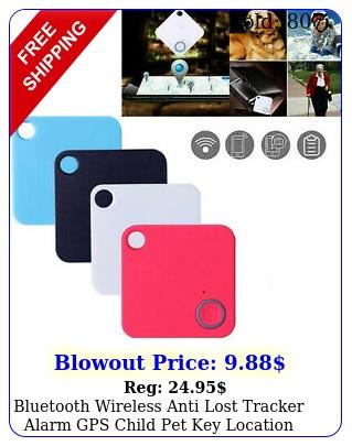 bluetooth wireless anti lost tracker alarm gps child pet key location finder u