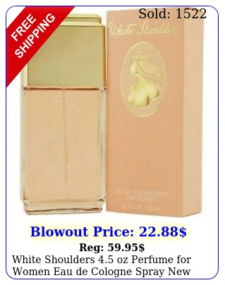 white shoulders oz perfume women eau de cologne spray i