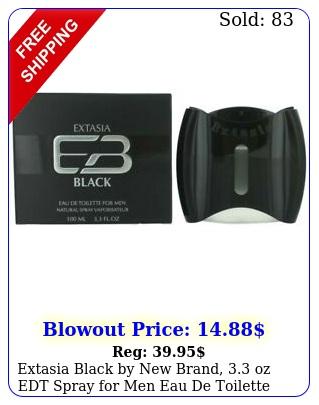 extasia black by brand oz edt spray men eau de toilett