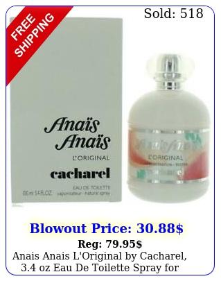 anais anais l'original by cacharel oz eau de toilette spray wome