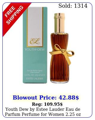 youth dew by estee lauder eau de parfum perfume women oz in retai