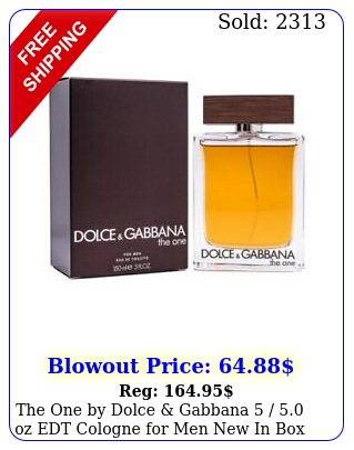 the one by dolce gabbana  oz edt cologne men i