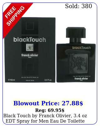 black touch by franck olivier oz edt spray men eau de toilett