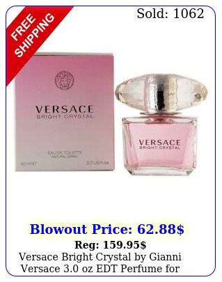 versace bright crystal by gianni versace oz edt perfume women i