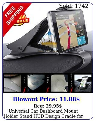 universal car dashboard mount holder stand hud design cradle gps cell phon