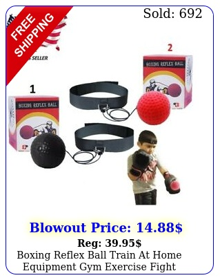 boxing reflex ball train at home equipment gym exercise fight bundle fun mm