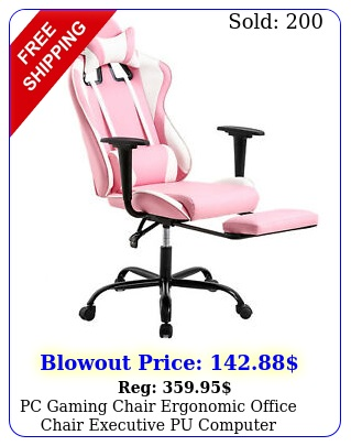 pc gaming chair ergonomic office chair executive pu computer chairpin