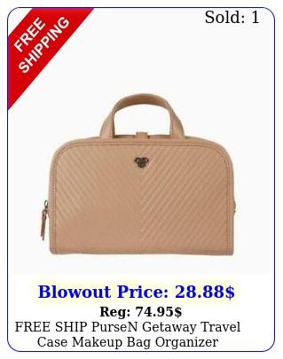 free ship pursen getaway travel case makeup bag organize