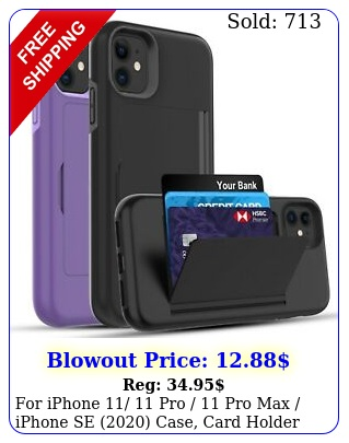 iphone  pro  pro max iphone se case card holder cas