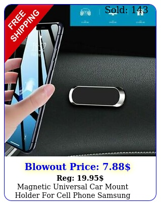 magnetic universal car mount holder cell phone samsung galaxy iphone l