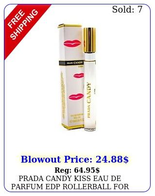 prada candy kiss eau de parfum edp rollerball women oz  m