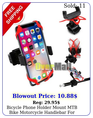 bicycle phone holder mount mtb bike motorcycle handlebar iphone universa