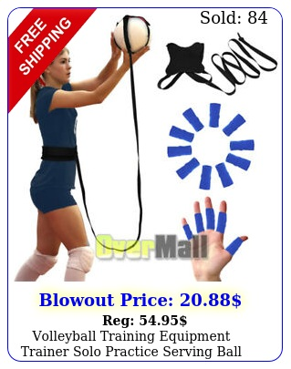 volleyball training equipment trainer solo practice serving ball adjustable cor