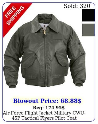 air force flight jacket military cwup tactical flyers pilot coat bombe