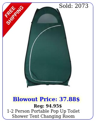 person portable pop up toilet shower tent changing room camping shelte