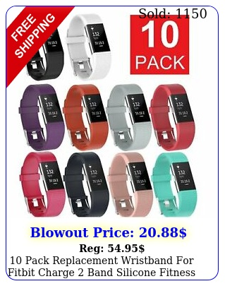 pack replacement wristband fitbit charge band silicone fitness smal